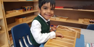 Kindergarten in Montessori