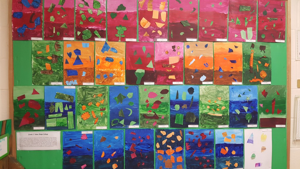 A Beautiful Display of our Students' Art