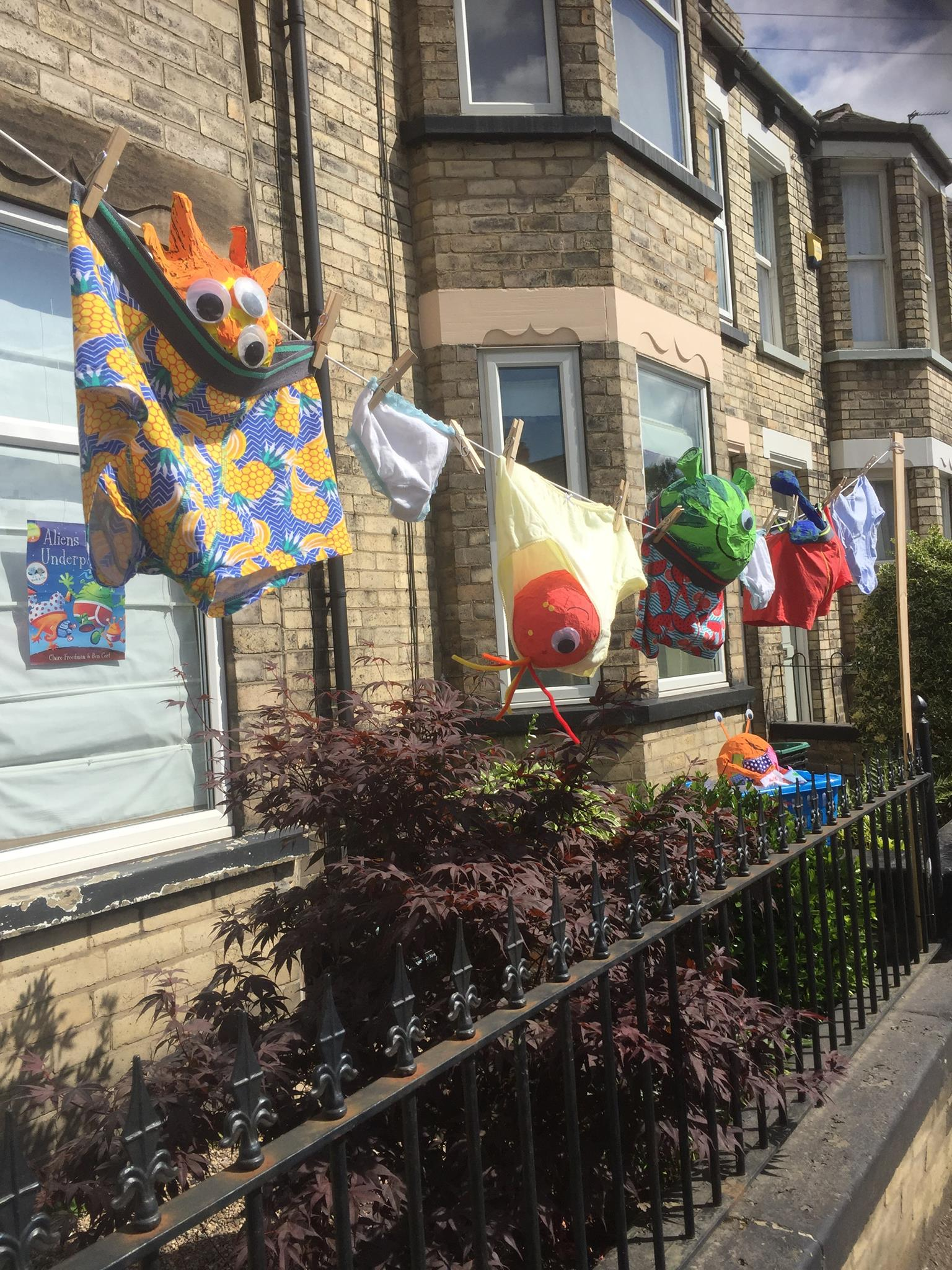 Rowntree Park Scarecrow event
