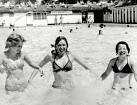 Rowntree Park swimming pool 1970s