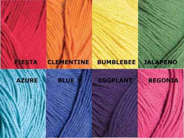 cotton color choices