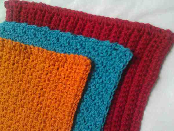 crochet dish cloths