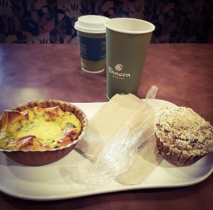 As always, nobody can top a Panera breakfast.