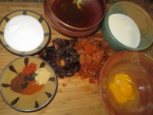 Spices and ingredients