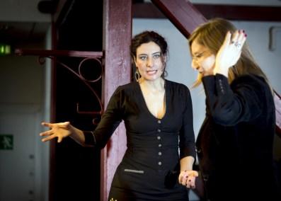Roxana Kia holder kursus.