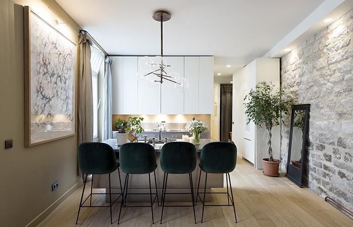Apartamento–Showroom con mobiliario de ensueño