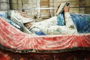 Gisant de Aliénor d'Aquitaine