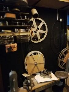 Cabine de projection du CInéma Nova