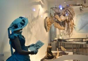 """Photo de la soirée """"Crinolines et Mosasaures"""" au Musée des Sciences Naturelles de Bruxelles"""