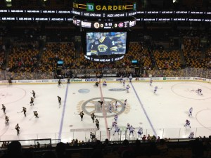 Bruins, TD Garden