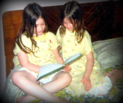 May 1975-Camille reading to me againB