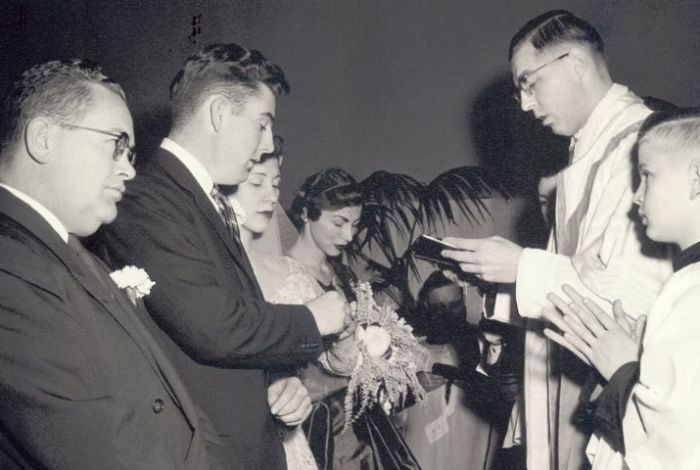Three weddings extra special for local priest, the Reverend Allan Nilles