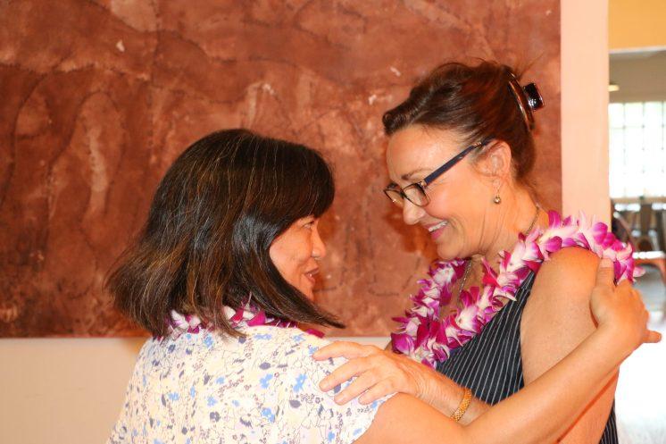 Liza Pierce & Jana McMahon, photo by Courtney Avichouser