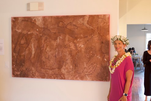 Roxanne Darling with I Am Maui, photo by Shane Robinson