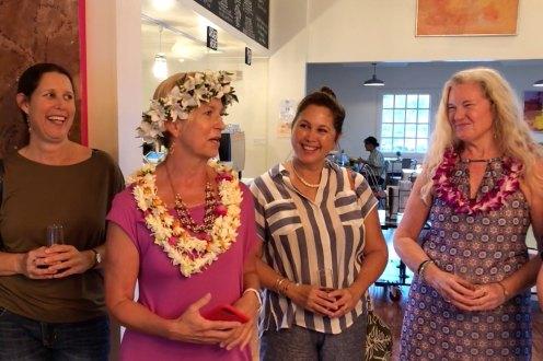 Malia Bohlin, Roxanne Darling, Kathy Takushi, Rosa McAllister, photo by Shane Robinson