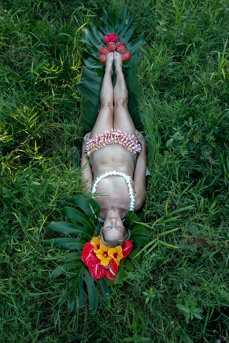 I AM: a flower child forever, Roxanne Darling, photogrpah