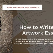 poster for How to Write an Artwork Essay
