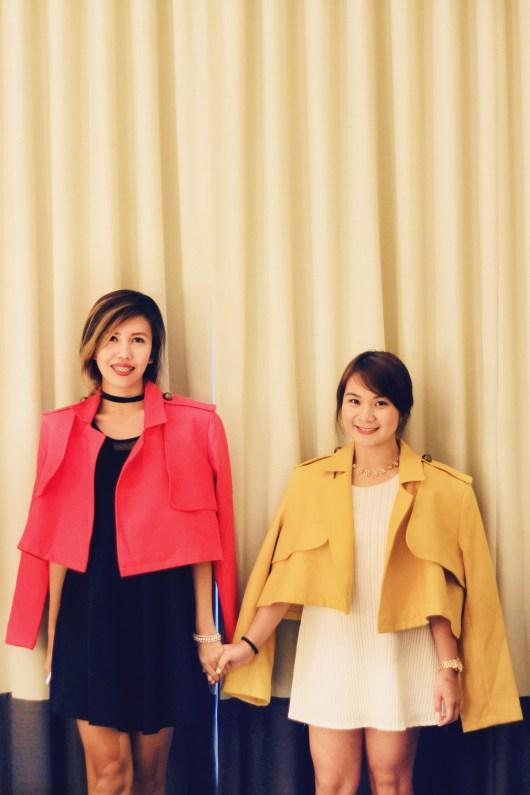 Claudine Chua & Roxanne Lacap House of Laurel Rajo Laurel