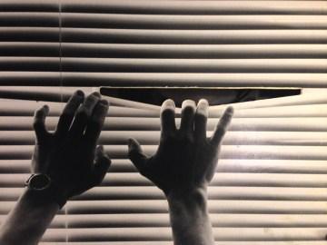 Y---OW 1985, tableau sonore en 3D réutilisé dans De la fenêtre 2011. Photo: Marc Larochelle.