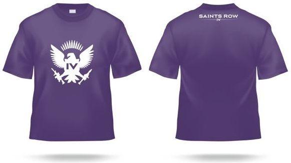 T_shirts saints row 4