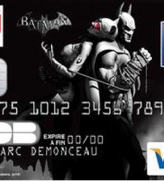Decouvrez Les Cartes Nrj Batman De La Banque Populaire