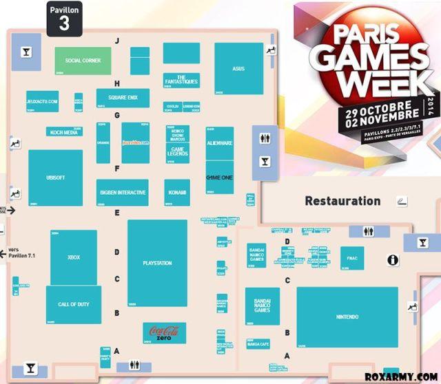 ParisGamesWeek2014-Plan