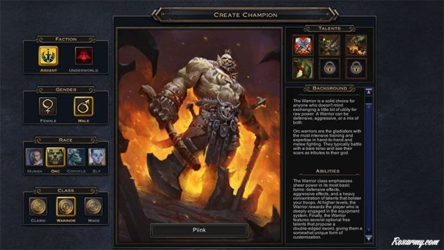 Orc WarriorM