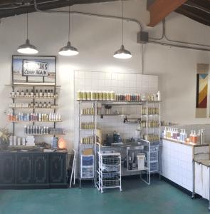 eco salon interior