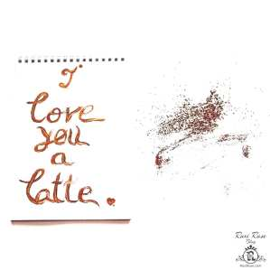 Coffe Quote -morning, I love you a lot!-