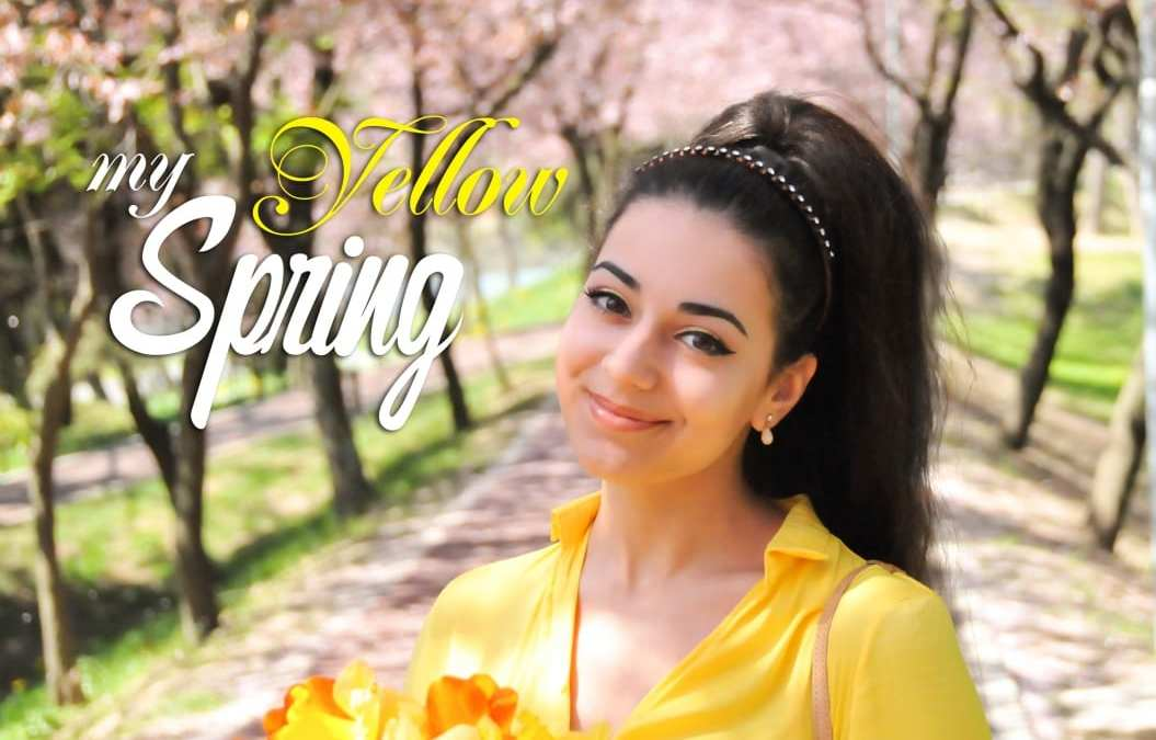 What's your favourite color? Yellow spring outfit & makeup