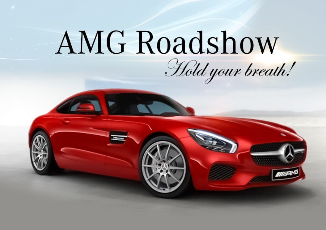 Hold your breath! AMG Roadshow