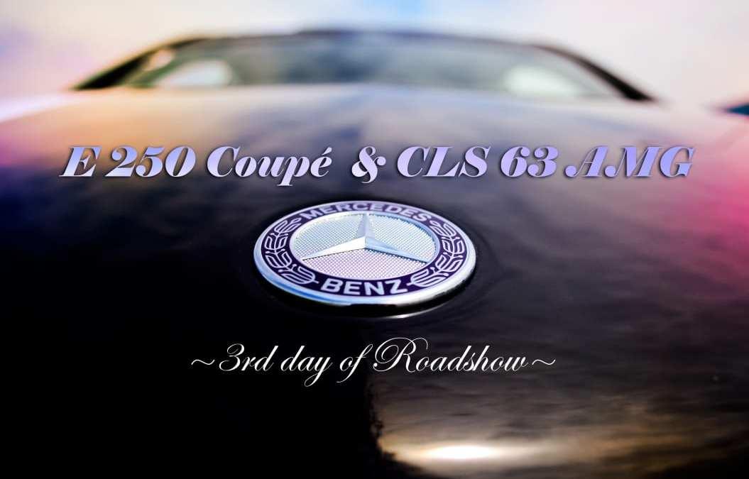 Mercedes-Benz E 250 coupé & CLS 63 AMG