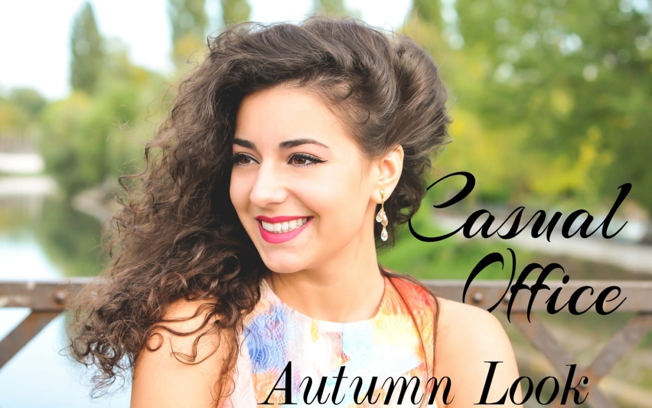 autumn look office business fashion blog romania blog fashion romania roxi rose timisoara blue color
