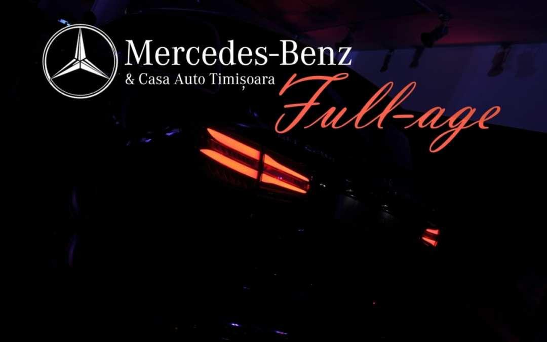 Mercedes-Benz & Timisoara – Sweet 18