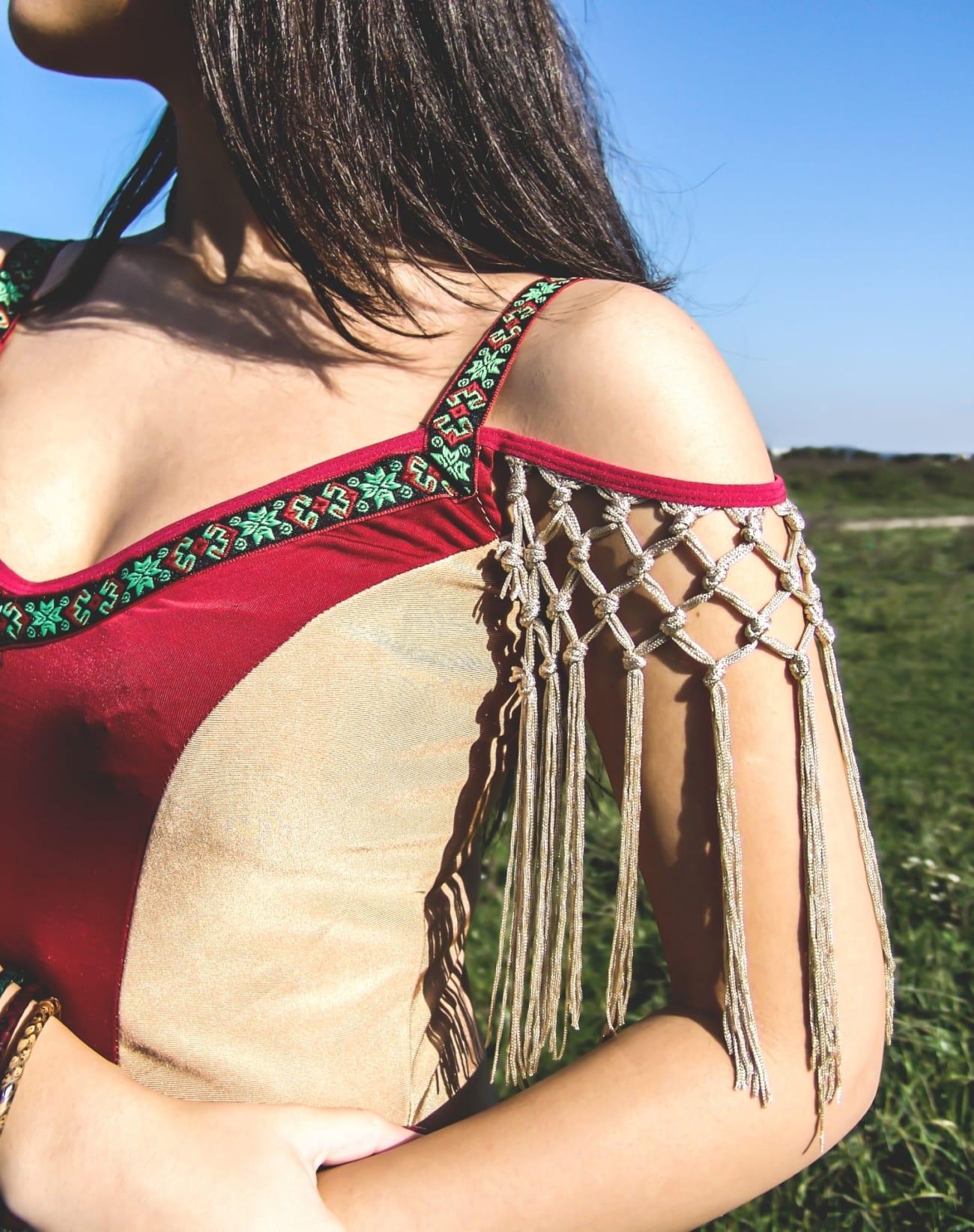 roxi rose fashion blog romania halloween indian native costume wildfashion (6)