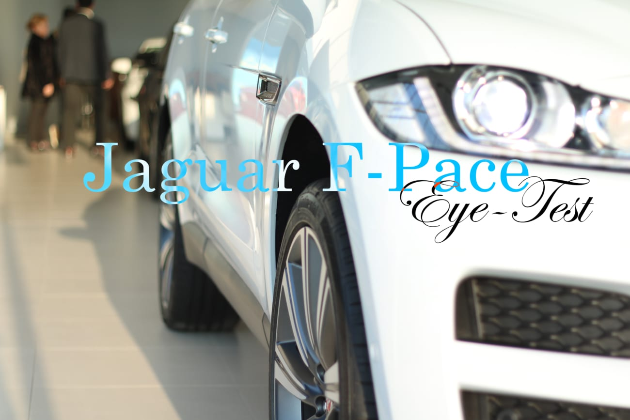 JAGUAR F-PACE eye-test