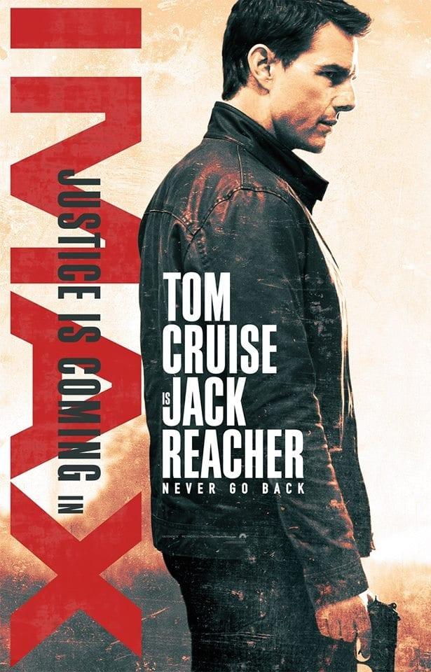 Jack Reacher: Never Go Back – de astăzi la CinemaCity