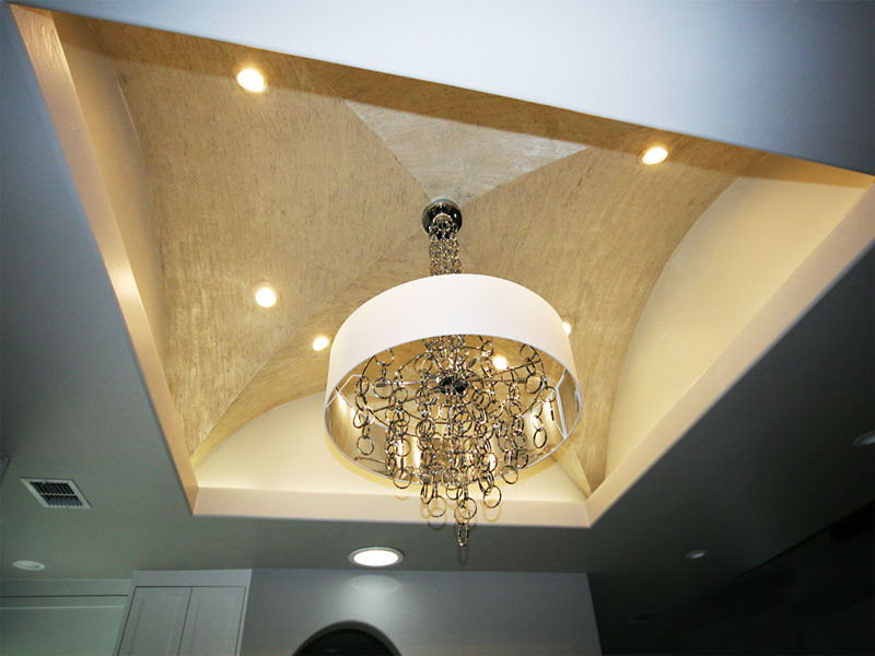 Ceiling Indents And Lighting Roxton Custom Home Remodeling