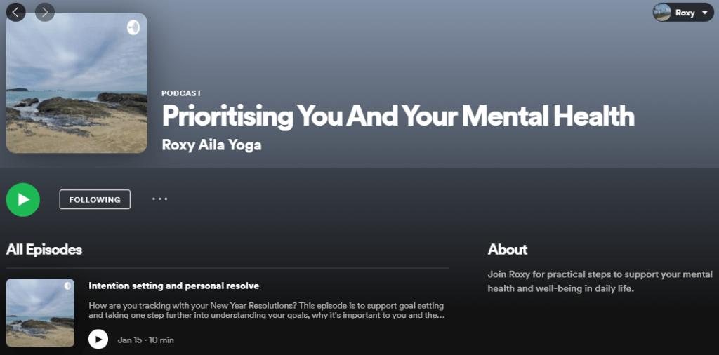 Prioritising you