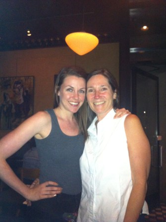 My first agent & fierce supporter, I ran into Cari on Saturday after a 4 year spell.