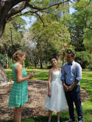 city botanic garden elopement