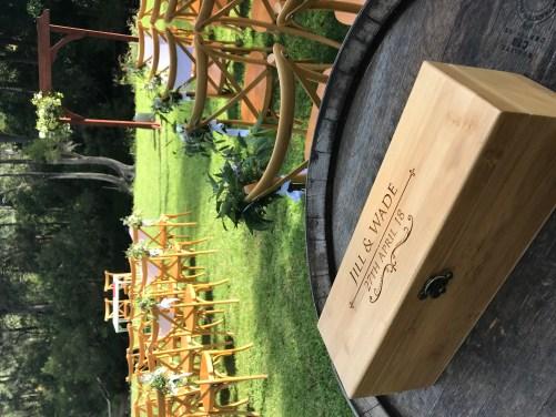 Closed Wine Box