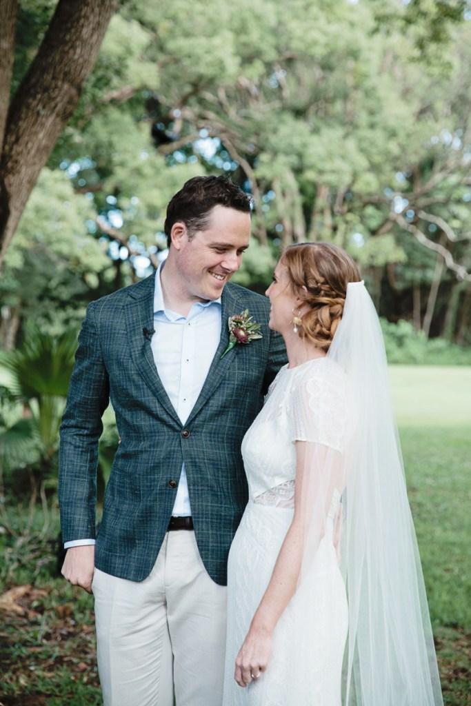 Couple marrying by Roxy Hotten