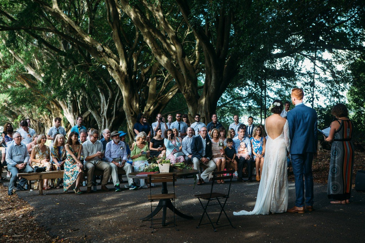 Ewingdale Hall wedding