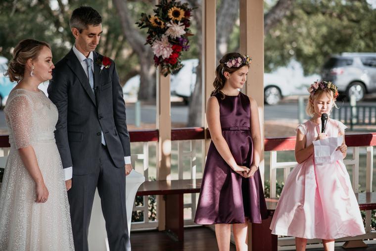 New Farm Park wedding.  Photo by CLoudcatcher  Celebrant Roxy Hotten
