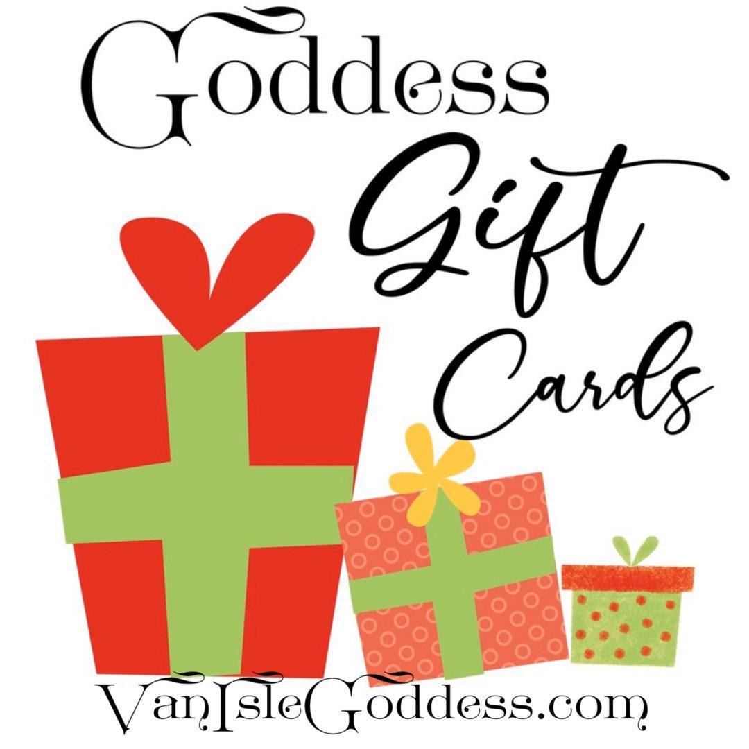 Goddess Gift Cards