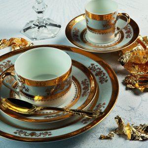 Orsay gris - Porcelaine Deshoulières