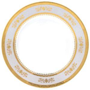 Assiette plate - Orsay Gris