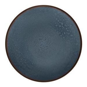 Assiette plate Feeling Indigo - Médard de Noblat