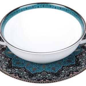 Bol bouillon - Dhara bleu